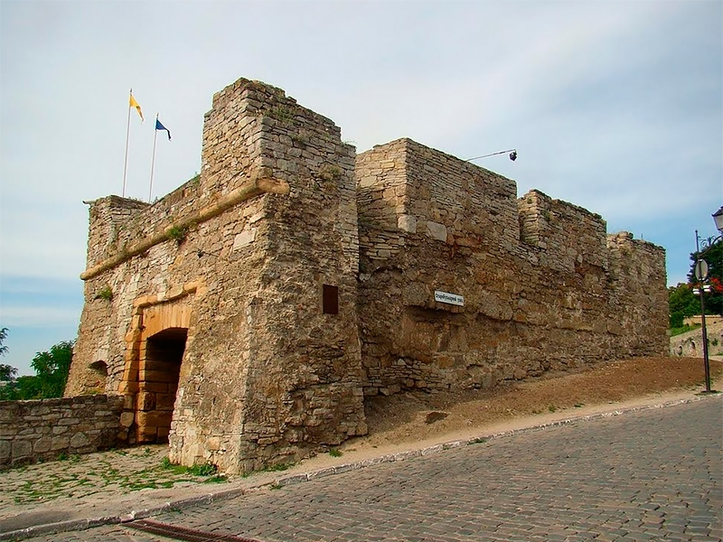 Городские ворота, каземат-лаборатория, Армянский бастион